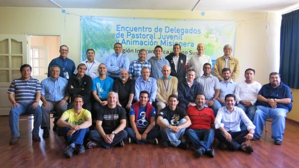 Delegados para PJS e AM se reúnem no Equador