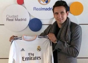 Ex-aluno da RSE treina no Real Madrid